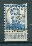 120 Gestempeld  THIELT - COBA 4 Euro - 1912 Pellens