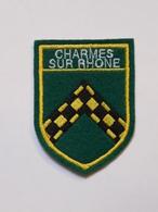 Ecusson à Coudre De Charmes-sur-Rhône (07) - Ecussons Tissu