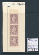BELGIAN CONGO 1886 ISSUE COB 5 FOURNIER'FORGERIES FAUX FOURNIER - 1884-1894 Précurseurs & Leopold II