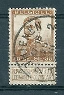 113 Gestempeld  THIENEN - TIRLEMONT 2 - COBA 4 Euro - 1912 Pellens
