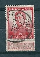 111 Gestempeld  THOUROUT - COBA 4 Euro - 1912 Pellens