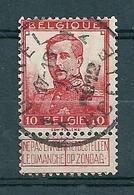 111 Gestempeld  UKKEL - UCCLE 1A - COBA 8 Euro - 1912 Pellens