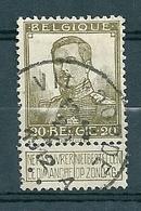 112 Gestempeld  VILVOORDE - COBA 7 Euro - 1912 Pellens