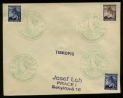 P0986 - DR Böhmen Und Mähren Sonderstempel Weihnachten Auf Briefumschlag: Gebraucht Iglau 1940 - Briefe U. Dokumente