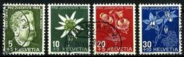 Suiza Nº 399/402 Usada. Cat.10€ - Used Stamps