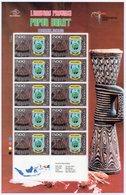 Indonesia Full Sheet 'Provincial Emblems' - PAPUA BARAT Islands (2009) - Indonesien