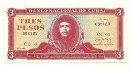 Cuba - 3 Pesos 1989 - Cuba