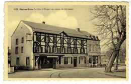 1059. - HAN-SUR-LESSE - Rochefort - Le Gite D' Etape ( Au Centre Du Bâtiment ) Bureau Des Tickets - Rochefort
