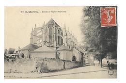 28-----CHARTRES--abside De L'église Saint-pierre---voir 2 Scans - Chartres