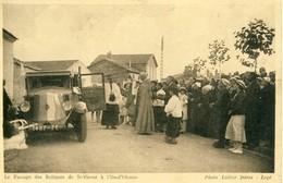 Le Passage Des Reliques De ST-Vivent à L'Ile D'Olonne  Cpa - Frankrijk