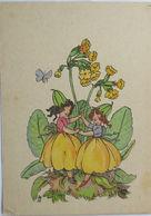 """""""Schlüsselblume, Kinder""""ca.1945,Serie Of. 0006, Gerhard Tacke ♥  - Enfants"""