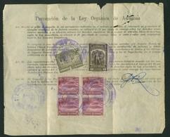 Ecuador Bollettino Pacchi - Ecuador