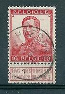 111 Gestempeld  WACHTEBEKE - COBA 8 Euro - 1912 Pellens