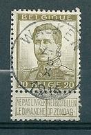 124 Gestempeld  WACKEN - COBA 8 Euro - 1912 Pellens