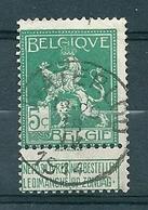 110 Gestempeld  WATERLOO - COBA 4 Euro - 1912 Pellens