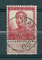 111 Gestempeld  WATERLOO - COBA 4 Euro - 1912 Pellens