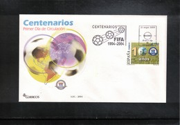 Spain 2004 100 Years Of FIFA FDC - Fútbol