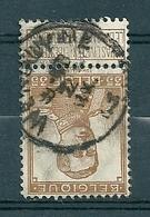 113 Gestempeld  WENDUYNE - COBA 4 Euro - 1912 Pellens