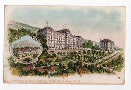 PUY DE DOME * HOTEL DU PARC & DES PRINCES * CHATEL-GUYON * A. Trub & Cie, Aarau, Lausanne, Colorisée - Châtel-Guyon