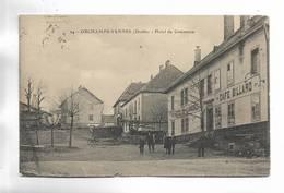 25 - ORCHAMPS-VENNES ( Doubs ) - Hôtel Du Cmmerce - Café Billard - Autres Communes