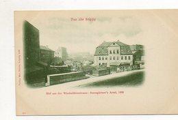 U1841/ Das Alte Leipzig Baumgärtner`s Areal, Blick V.d. Windmühlenstr. AK 1899 - Leipzig