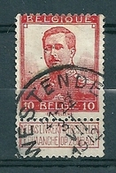 111 Gestempeld  WESTENDE - COBA 4 Euro - 1912 Pellens
