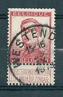 118 Gestempeld  WESTENDE - COBA 4 Euro - 1912 Pellens