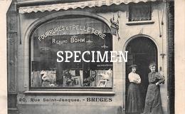 Fourrures Et Pelleterie Richard Bohm - Bruges - Brugge - Brugge