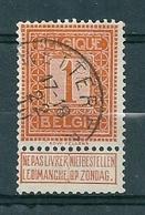 108 Gestempeld  WETTEREN - COBA 4 Euro - 1912 Pellens