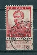 111 Gestempeld  WETTEREN - COBA 4 Euro - 1912 Pellens