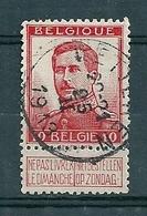 118 Gestempeld  WETTEREN - COBA 4 Euro - 1912 Pellens