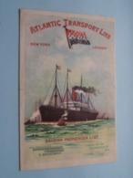 "S.S. "" MESABA "" ( Atlantic Transport Line ) NEW YORK - LONDON Saturday June 25 - 1904 > SALOON Passenger List ! - Bateaux"