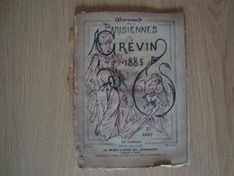 ALMANACH DES PARISIENNES PAR GREVIN 1885 - Books, Magazines, Comics