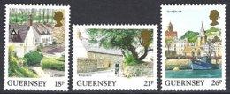 Guernsey, Yv 450 +518/19,série Courante, Vues De L'île ** - Guernesey