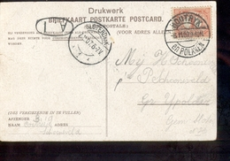 Houtryk En Polanen Langebalk SLoterdijk 1 - 1907 - Postal History