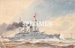 S.M.S. Zâhringem - Guerre