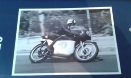 Carte Postale Moto Gp Espagne 1966 Tommy Robb Bultaco 125 - Motorcycle Sport