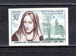 FRANCE  N° 1214a  NON DENTELE NEUF SANS CHARNIERE  COTE 27.00€  DESBORDESVALMORE NOTRE DAME DE DOUAI - Frankreich