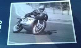 Carte Postale Moto Gp Espagne 1966 Derek Woodmann Mz 250 - Motorcycle Sport