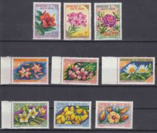 Upper Volta 1963 Flowers From Set Mi#120-135 Mint Never Hinged, Key Stamps Included - Obervolta (1958-1984)