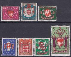 Monaco 1954 Mi#479-485 Mint Never Hinged - Unused Stamps