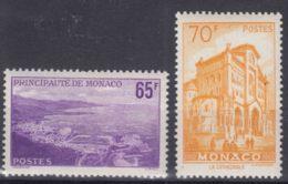 Monaco 1957 Mi#585-586 Mint Never Hinged - Unused Stamps