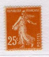 N° 235 YT Neuf ** - 1906-38 Sower - Cameo