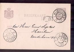 Witmarsum Grootrond - 1899 - Postal History