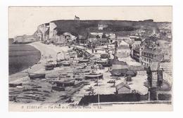 76 Etretat En 1922 N°3 Vue Prise De La Cloche Du Diable Bateaux De Pêche - Etretat
