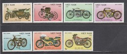Vietnam 1985 - 100 Years Of Motorcycles, Mi-Nr. 1572/78, Perfored, MNH** - Vietnam