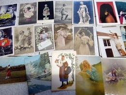 30 CP FEMMES - Postcards