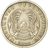Monnaie, Kazakhstan, 20 Tenge, 2000, TTB, Copper-Nickel-Zinc, KM:26 - Kazakhstan