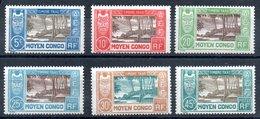 Congo Französisch Kongo Taxe Y&T T 12**, T 13*, T 14*/** - T17*/**, T 18* - T 22*, T 23** - Ungebraucht