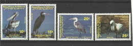 DJIBOUTI  1991   BIRDS  SET   MNH - Uccelli